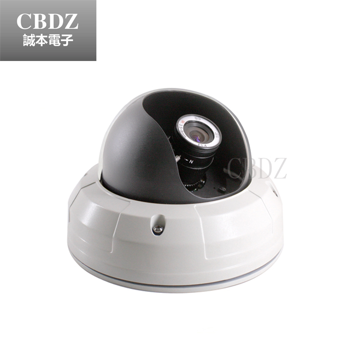 ФОТО Metal Dome CCTV Camera Manual Zoom 2.8mm ~ 12mm indoor ceiling installation CBDZ