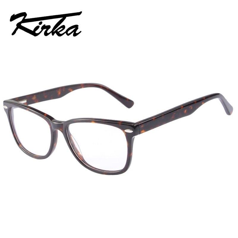 d9d30934d Kirka Hot Unisex Do Vintage Óculos Quadrados Com Lente Clara, Mulheres  Homens Simples Espelho Miopia Prescrição Óptica óculos de Armação