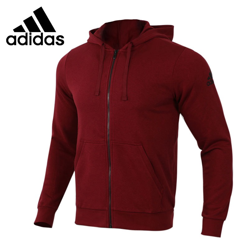 Original New Arrival 2018 Adidas Ess Base Fz Slb Mens Jacket Hooded Sportswear Choice Materials Sports & Entertainment