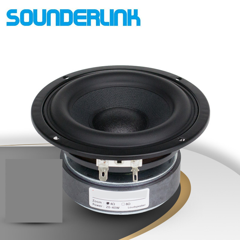 1PC Sounderlink Top End 4 Inch  Supper Strong Bass Driver Woofer Subwoofer Transducer Speaker Repair Replacement Parts