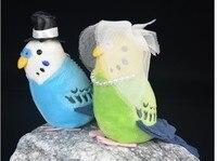 2019 hot sale mini Budgerigar Bird animal stupped plush toy Parrot Simulation Doll for childrend girlfrend birthday gift