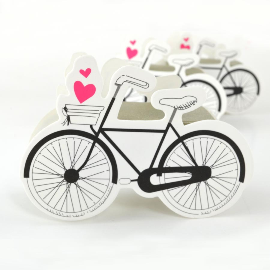 10pcs Bicycle Shape Paper Box Bike Candy Boxes Wedding Favors Package Birthday Party Favor Bag Chocolate Cookie Packing Gift Box