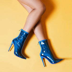 84dd2989495 Perixir ankle Boots women shoes sexy Pointed toe