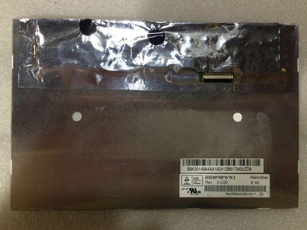 New original HSD070PWW1-C00 1280*800 resolution IPS screen цена