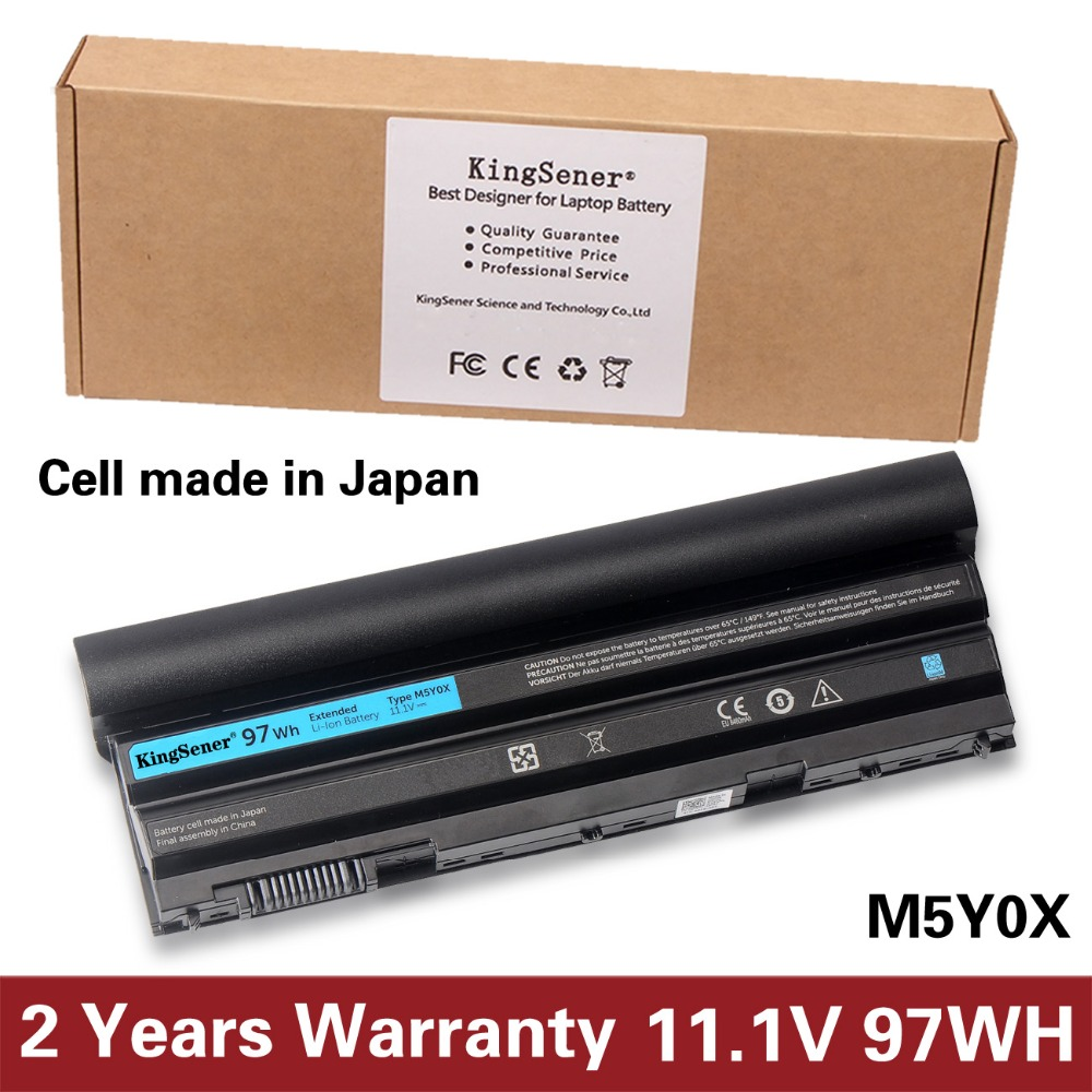 Korea Cell Original Quality Laptop Battery For DELL Latitude E6420 E6520 E5420 E5520 E6430 M5Y0X T54F3