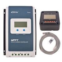 MPPT 30A EPEVER Солнечный батарея зарядное устройство 12 В 24 солнечный регулятор светодиодная подсветка и таймер нагрузки управление с MT50 EPSOLAR