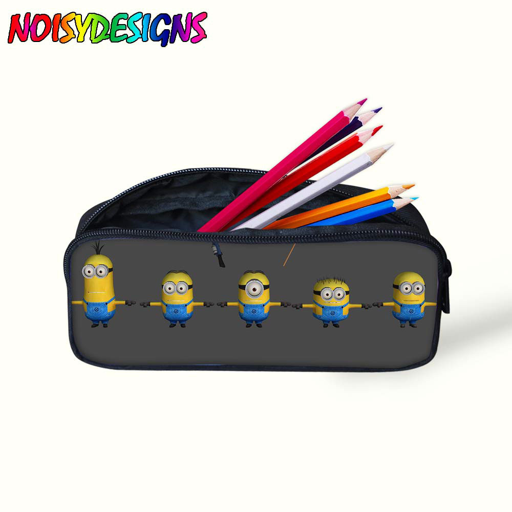 V159 Dollhouse Miniature Stationary Pencil Stand Pencil and Ruler School Bag