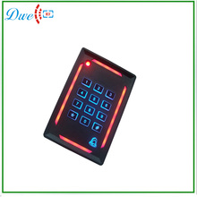 tcp ip access control system rfid card reader with door bell and keypad