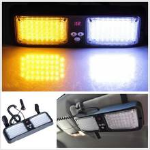86 LED Other Emergency Vehicle Car Truck Super Bright Visor Strobe Lights   Flash
