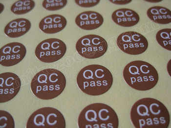 20000pcs/lot 10mm brown/red/orange/blue/purple/green QC PASS Self-adhesive sticker for plant quality control, Item No. GU08 - DISCOUNT ITEM  0% OFF All Category