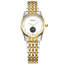 Top Luxury Brand Ladies Watches Fashion Dress Quartz Watch Stainless Steel Watchband 3Bar Waterproofing relogio feminino BARIHO