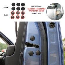 Car Door Lock Screw Protection Stickers Covers