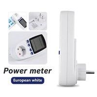 전력계 디지털 전력계 에너지 eu 와트 계산기 모니터 전기 소비 측정 소켓 분석기