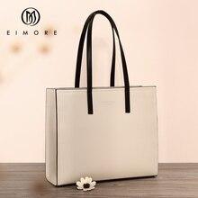 EIMORE torebki o dużej pojemności kobiety prawdziwej skóry duża torba na ramię torebka wiadro kobieca torba na ramię proste panie luksusowa torba markowa