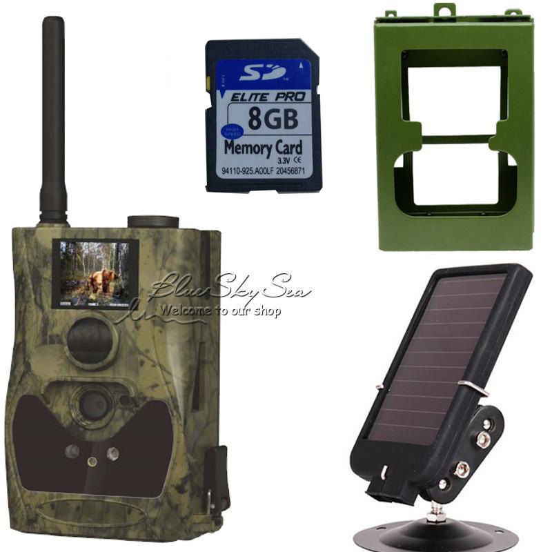 Free Shipping ScoutGuard SG880MK 12m HD GPRS MMS font b Trail b font Hunting font b