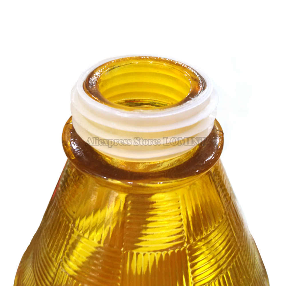 5 stücke Weiß Gummi Dichtung Tülle Für MYA Shisha Shisha Wasser Rohr Shisha Chicha Narguile Glas Basis Flasche Zubehör 43-35mm