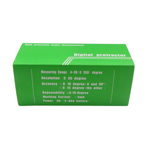 Image 5 - Digitale Gradenboog Elektronische Niveau Hoek Finder Meetinstrumenten Hoek Bevel Box Met Magneet Inclinometros Digitale
