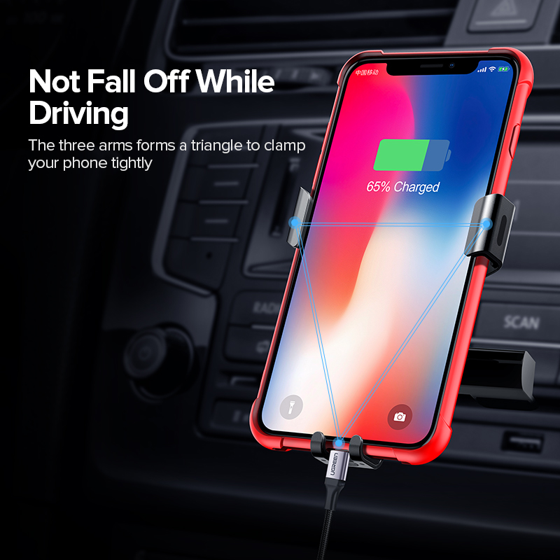 Ugreen Car Phone Mount Holder for Phone in Car CD Slot Car Phone - Reservdelar och tillbehör för mobiltelefoner - Foto 3