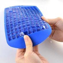 160 сетка силиконовая форма для льда Diy Форма для льда квадратная форма для фруктов кубики льда бар аксессуары для дома и кухни