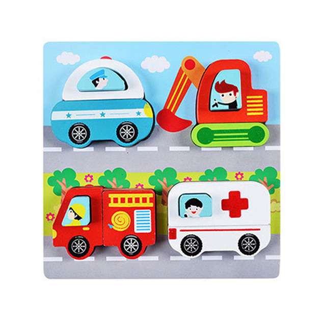 Fun and Colorful Montessori Puzzles (6 Styles)