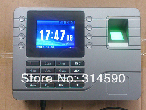 TCP/IP Biometric Fingerprint Time Attendance Fingerprint Time Clock With Free Software free shipping tcp ip fingerprint time attendance a c010t