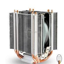 CPU cooler 9cm fan 4 heatpipe cooler for Intel LGA775 1150 1151 115x 1366 Cooling for AMD radiator fan CoolerBoss CAH-409-10