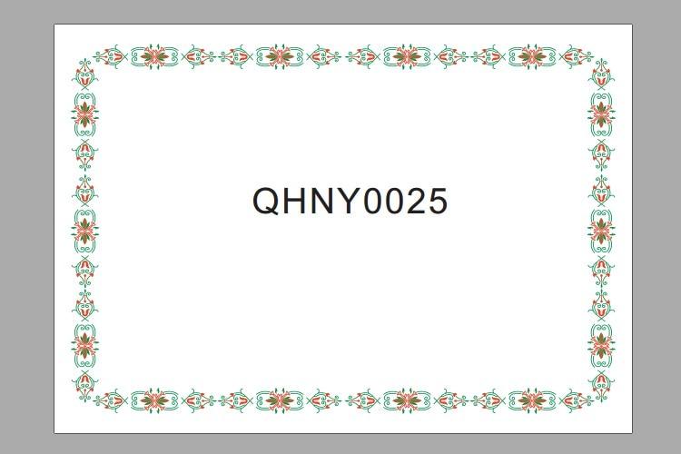 25pcs/1lot Certificate of Honor Achievement Appreciation inside pages 180g A4 Inside certificate 12K blank Paper