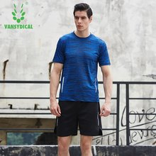 Men Compression Running Sets Jog Sports Football Soccer Basketball Shirts Shorts Joggers GYM Fitness Quick dry Breathable