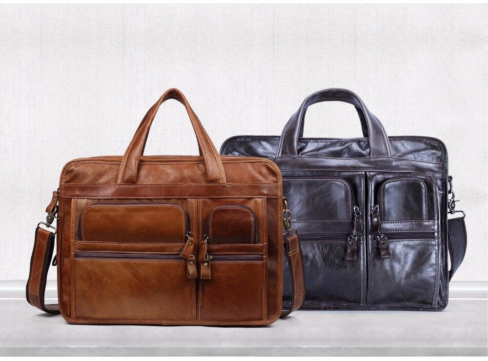 HTB1TojOc7fb uJjSsD4q6yqiFXa6 JOYIR Genuine Leather Men Briefcases Laptop Casual Business Tote Bags Shoulder Crossbody Bag Men's Handbags Large Travel Bag