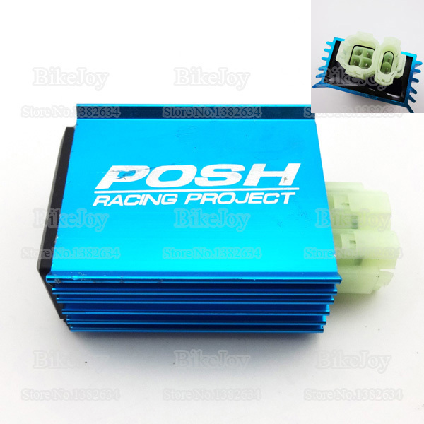 6 pins wires posh racing ac cdi ignition box blue for gy6 50cc 150cc rh aliexpress com 6 Wire Cdi Wiring Diagram CDI Box Wiring Diagram