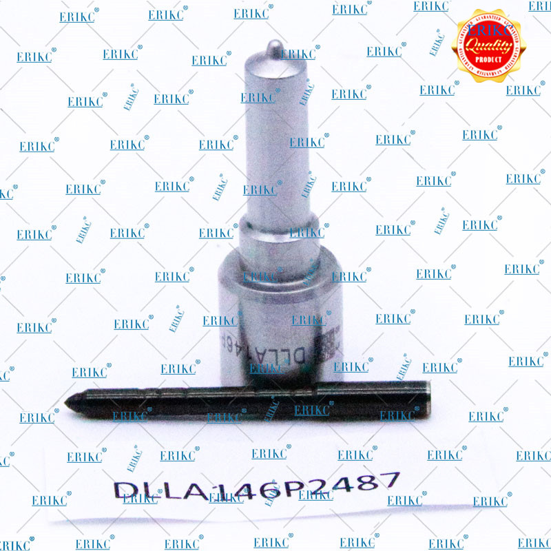 ERIKC 0445110690 CR Nozzle DLLA146P2487 Fuel Injector 0 433 172 487 Common Rail Sprayer DLLA 146 P 2487 Injector DLLA 146P2487