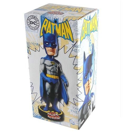 ФОТО *NEW IN BOX* DC superhero Avengers Assemble Classic Comics Batman Wacky Wobbler BobbleHead Bobble Head 18cm