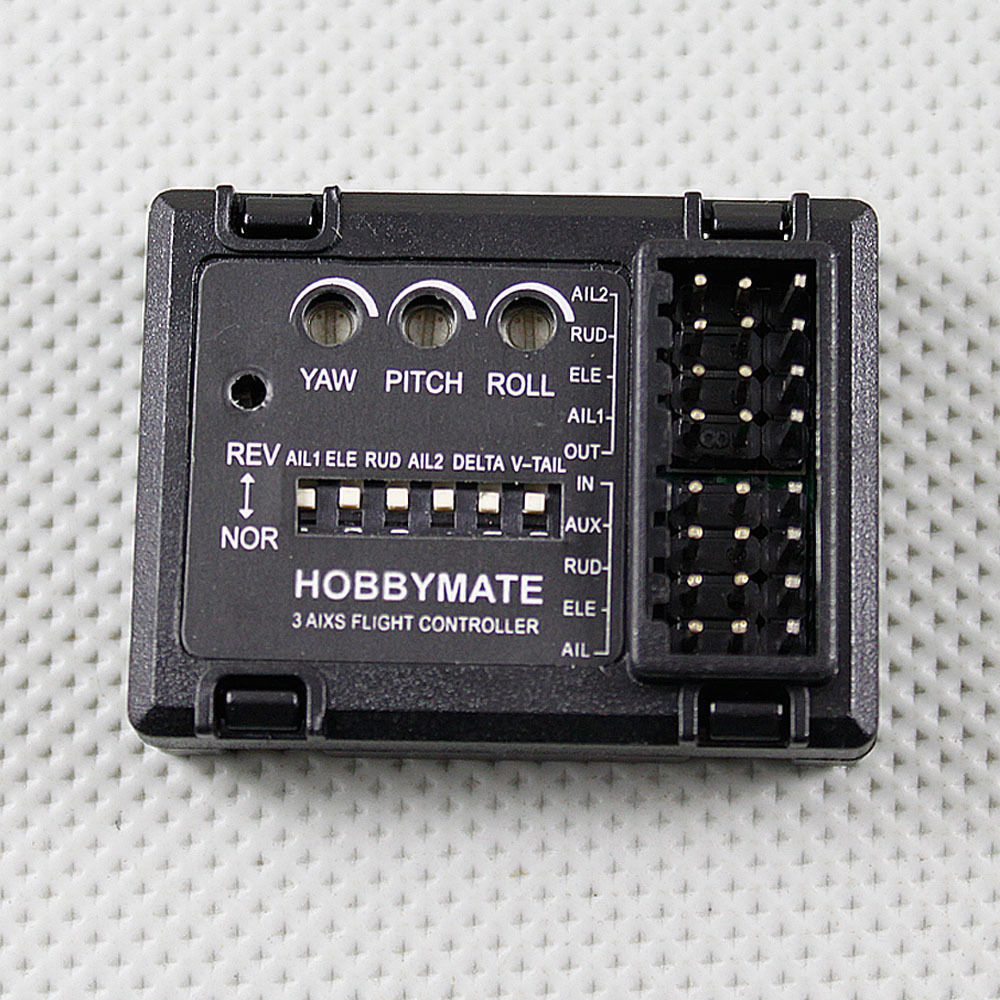 Hobbymate Rc Airplane FPV 3 axis flight Stability controller