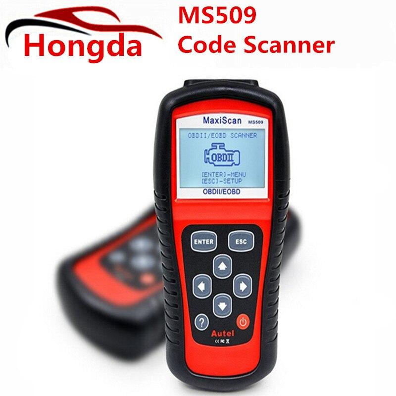 Цена за Бесплатная Доставка 2016 Новый Autel Maxiscan Ms509 Obdii/Eobd Авто Code Reader MS 509 Obd 2 Сканер