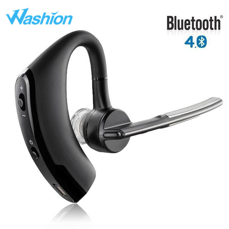 New V8 Business Bluetooth Headset Handsfree Wireless: Washion V8 Business Bluetooth Headset Wireless Stereo