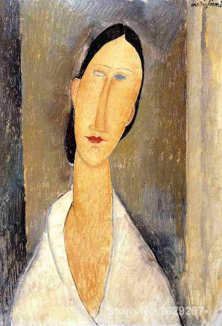Hanka Zborowska Amedeo Modigliani painting for sale Hand painted High quality