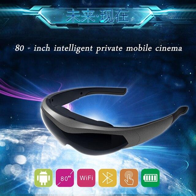 2016 новый 1080 P Интеллектуальный HD видео очки VR виртуальная реальность очки все-в-одном с bluetooth4.0 WIFI Android4.4