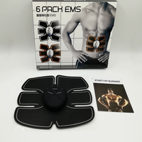 Electric Abdominal Muscle Stimulator EMS Body Slimming Beauty Machine Tens Muscle Exerciser Intensive Training Device
