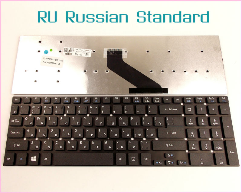 Laptop Keyboard for Packard Bell Easynote TSX62HR TV11CM TV11HC TV43HC RU Russian Version
