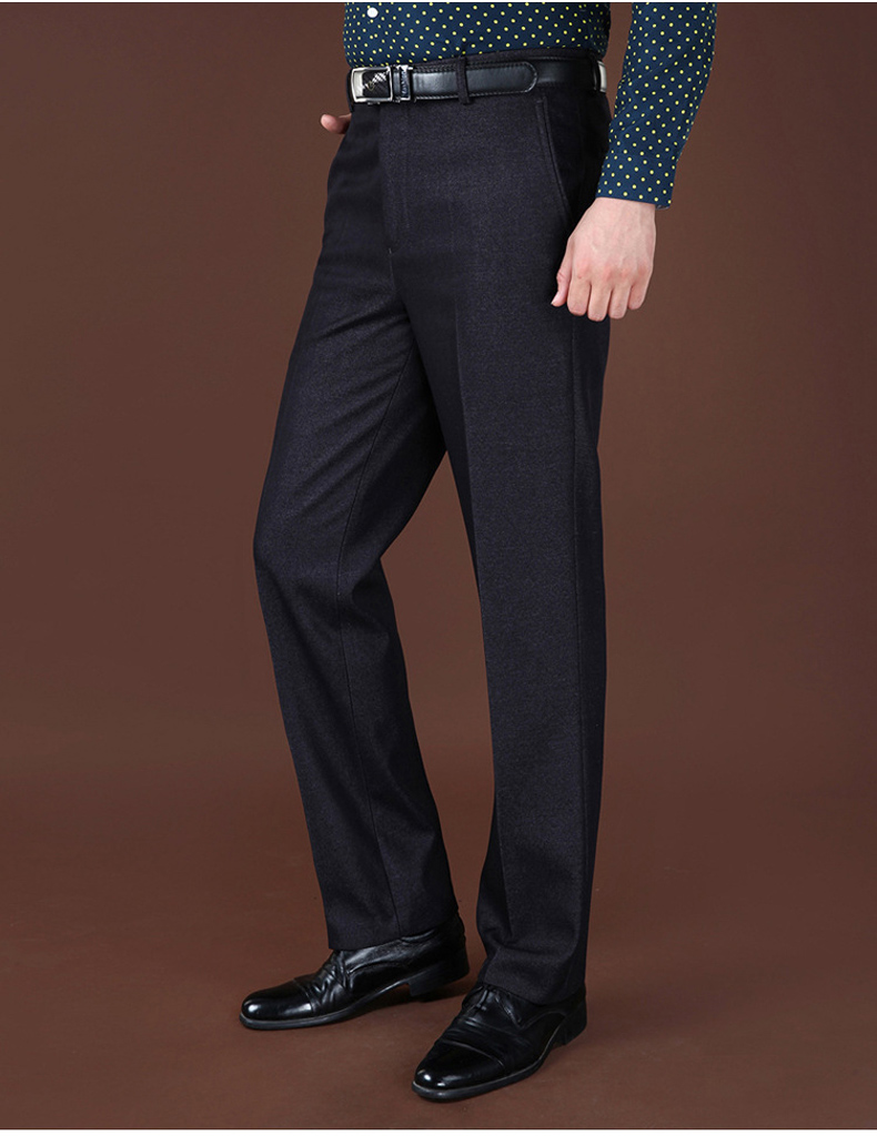 HTB1Tol5XiQnBKNjSZFmq6AApVXa5 Plus Sizes 40 42 44 Business Casual Fleece Warm Suit Pants New Straight Formal Male Winter Trousers Plus Thicken Velvet Trousers