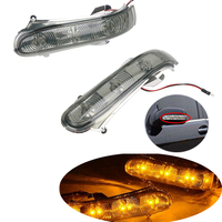 2x For Mercedes Benz W220 LED Mirror Front Turn Signals Lights S Class W215 CL600 S430