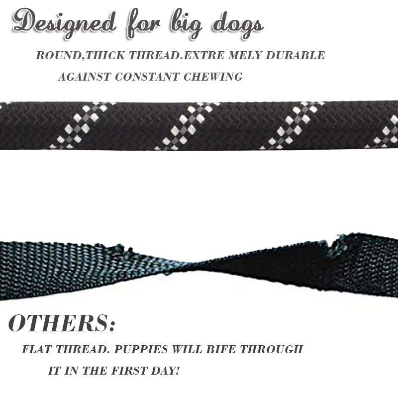 Super Strong Larger Dog Collar Leash (6)
