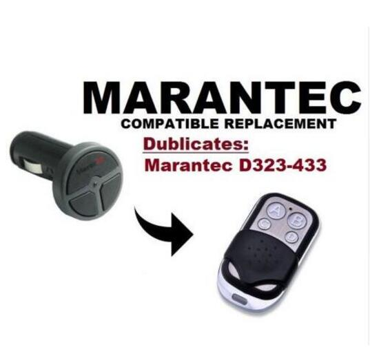 2pcs Marantec Command 131 Garage Door/Gate Remote compatible Remote duplicator 433.92mhz fixed code free shipping free shipping 2pcs remote learning code automatic door controller with remote controller 12 36vdc ac