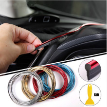 5m Car Styling Interior Exterior Decoration Strips For BMW X5 X3 X6 E46 E39 E38 E90 E60 E36 F30 F30 E34 F10 F20 E92 E38 E91 E53
