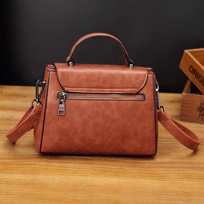 Kadınlar için hakiki deri çanta 2018 lüks marka çanta kadın çanta tasarımcısı kadın postacı çantası püskül bayanlar omuz T31