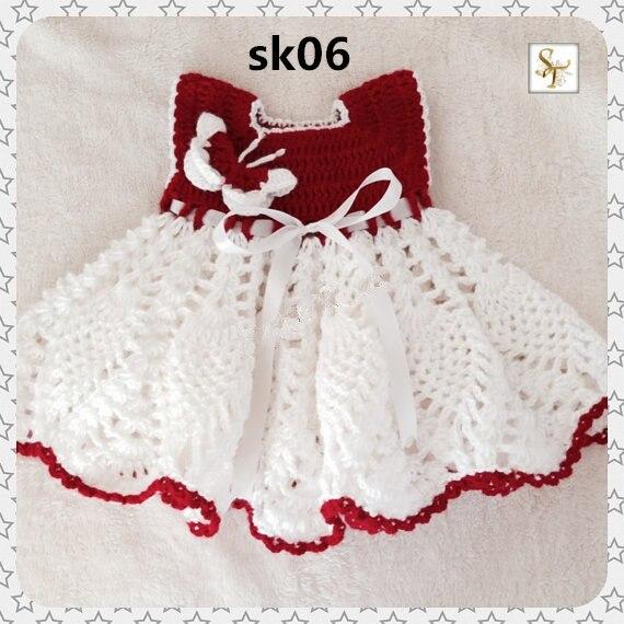 Robe papillon Crochet, robe bébé ananas, robe bébé Crochet, robe bébé