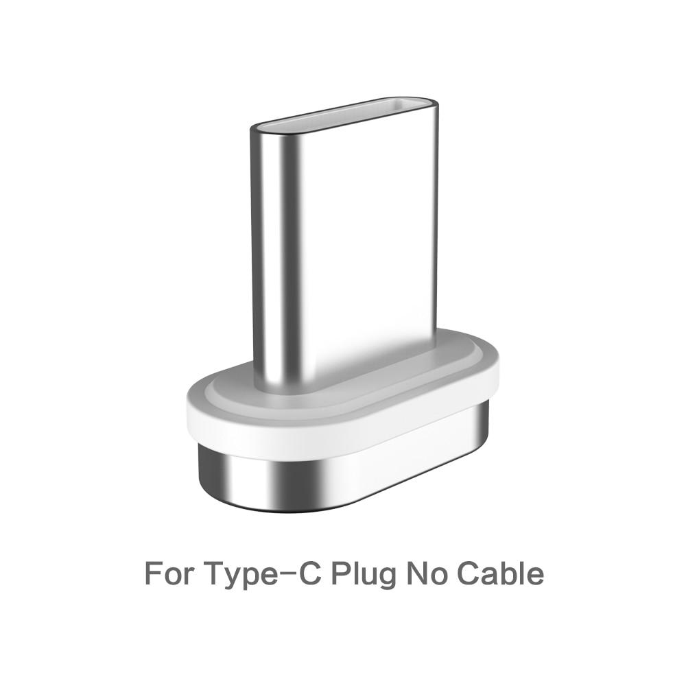 FLOVEME Магнитный кабель Micro usb type C для iPhone Lightning Кабель м 1 м 3A Быстрая зарядка USB-C type-C магнит зарядное устройство кабель для телефона магнитная зарядка магнитный usb кабель провод для зарядки шнур - Цвет: For Type C Plug
