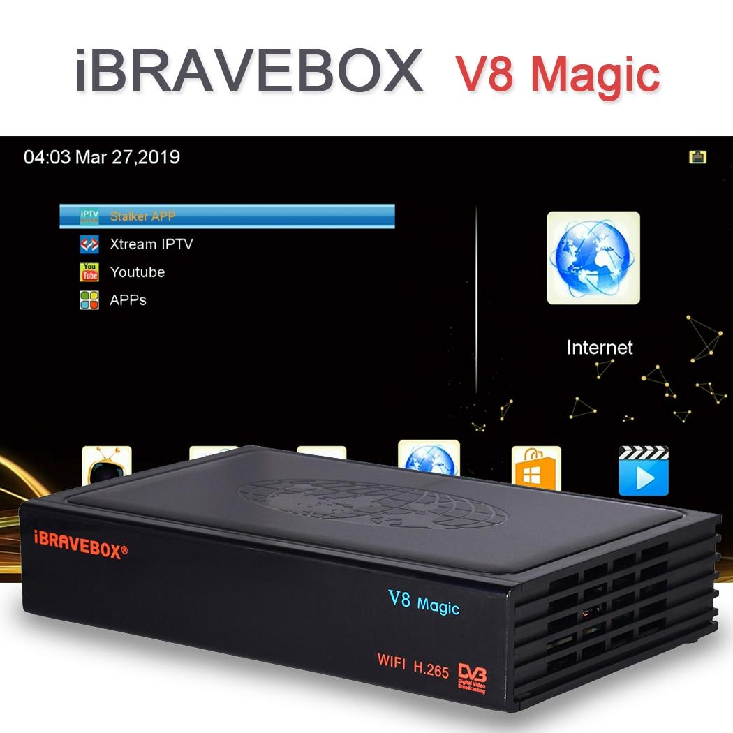 DVB S2 S TV Receiver Satellite Decoder iBRAVEBOX V8 Magic Digital Satellite Box HD TV Tuner