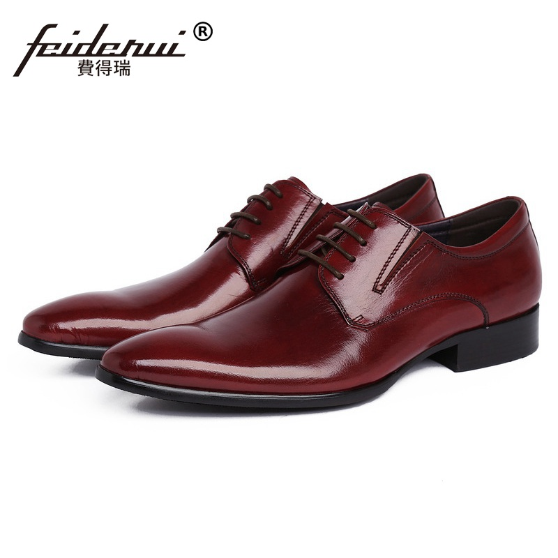 New Arrival Pointed Toe Derby Man Formal Dress Shoes Luxury Brand Genuine Leather Male Oxfords Men's Wedding Bridal Flats JD56 подвесной унитаз ifo grandy rp213100200 page 4