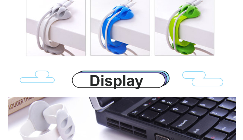 Cute Headphone Cord Wire Holder Rack Winder Desk Organizer Home Office Storage Stand Cute Table Cable Line Wrap Organization Hot_04